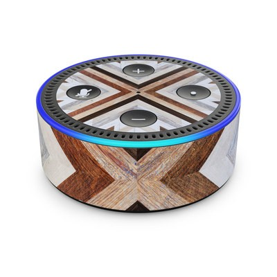 Amazon Echo Dot 2nd Gen Skin - Timber