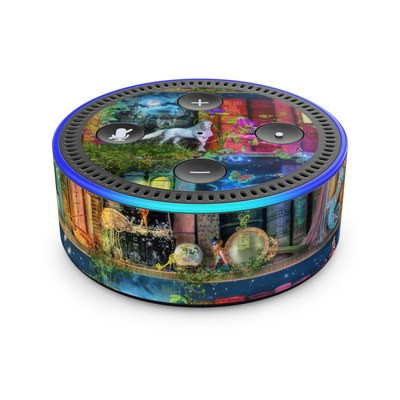 Amazon Echo Dot 2nd Gen Skin - Treasure Hunt