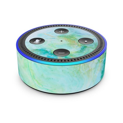 Amazon Echo Dot 2nd Gen Skin - Winter Marble