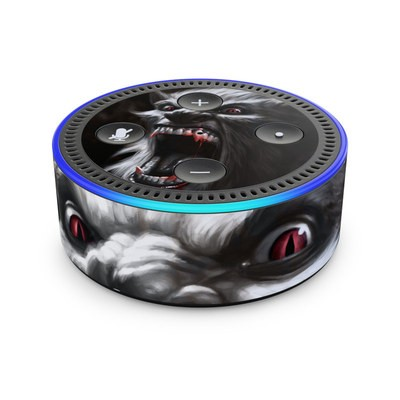 Amazon Echo Dot 2nd Gen Skin - Wolfman