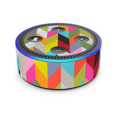 Amazon Echo Dot 2nd Gen Skin - Ziggy Condensed