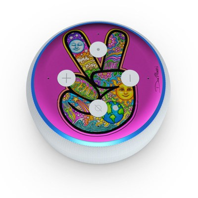 Amazon Echo Dot 3rd Gen Skin - Peace Hand