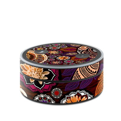 Amazon Echo Dot Skin - Autumn Mehndi