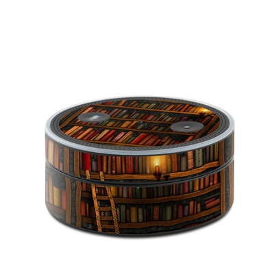 Amazon Echo Dot Skin - Library