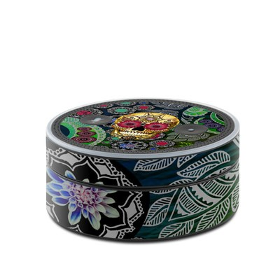 Amazon Echo Dot Skin - Sugar Skull Paisley