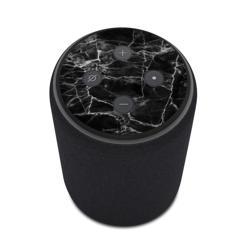 Stupendous Amazon Echo Plus 2Nd Gen Skin Black Marble Ncnpc Chair Design For Home Ncnpcorg