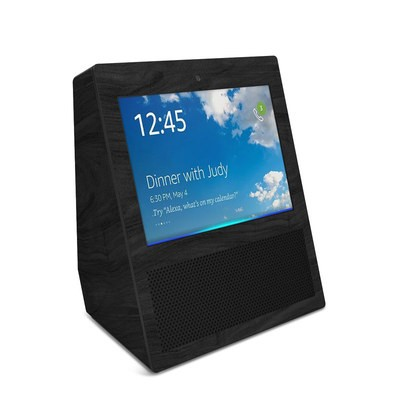 Amazon Echo Show Skin - Black Woodgrain