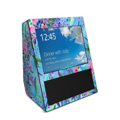 Amazon Echo Show Skin - Lavender Flowers