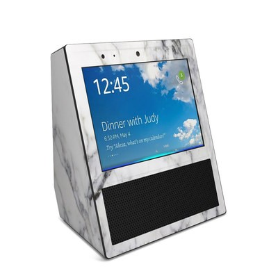 Amazon Echo Show Skin - White Marble