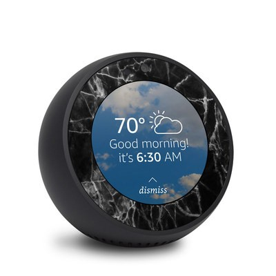 Amazon Echo Spot Skin - Black Marble