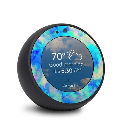 Amazon Echo Spot Skin - Electrify Ice Blue