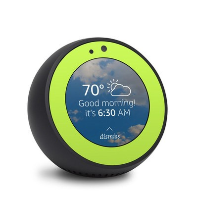 Amazon Echo Spot Skin - Solid State Lime