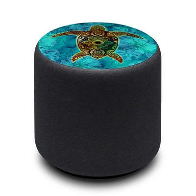 Amazon Echo Sub Skin - Sacred Honu