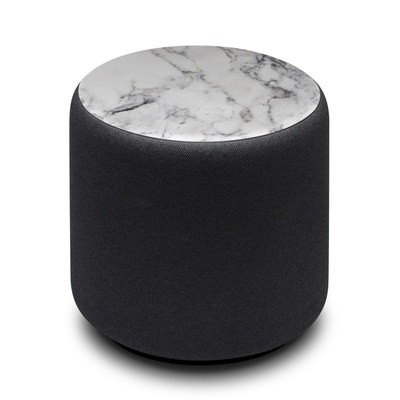 Amazon Echo Sub Skin - White Marble