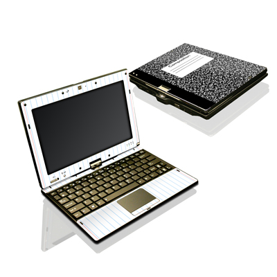 Asus Eee Touch T101 Skin - Composition Notebook