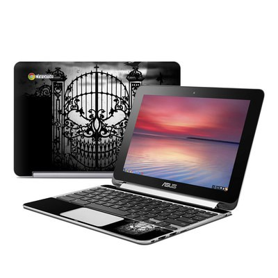 Asus Flip Chromebook Skin - Abandon Hope