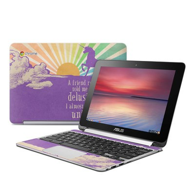 Asus Flip Chromebook Skin - A Friend Recently