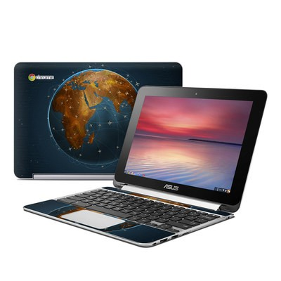 Asus Flip Chromebook Skin - Airlines