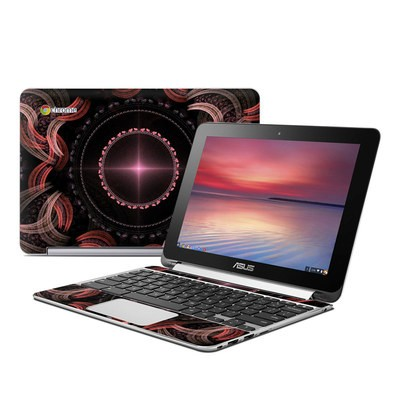 Asus Flip Chromebook Skin - All Roads Lead Home