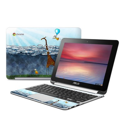 Asus Flip Chromebook Skin - Above The Clouds