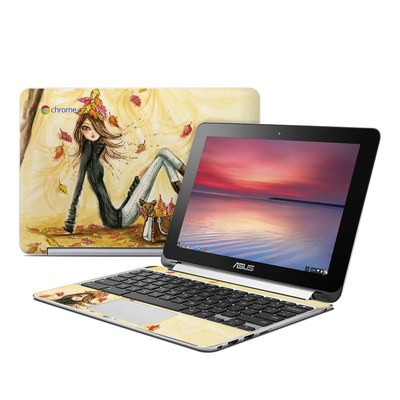 Asus Flip Chromebook Skin - Autumn Leaves