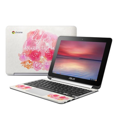 Asus Flip Chromebook Skin - Beautiful