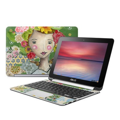 Asus Flip Chromebook Skin - Be Glad