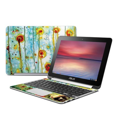 Asus Flip Chromebook Skin - Beneath The Surface