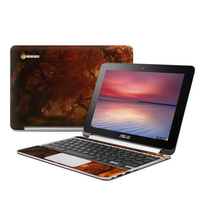 Asus Flip Chromebook Skin - Canopy Creek Autumn