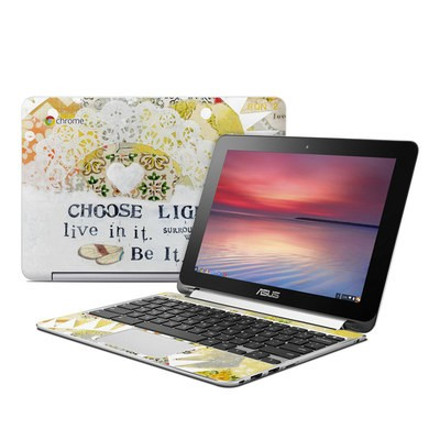 Asus Flip Chromebook Skin - Choose Light