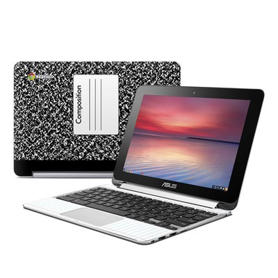 Asus Flip Chromebook Skin - Composition Notebook