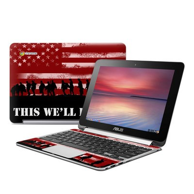 Asus Flip Chromebook Skin - Defend