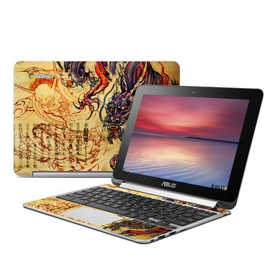 Asus Flip Chromebook Skin - Dragon Legend