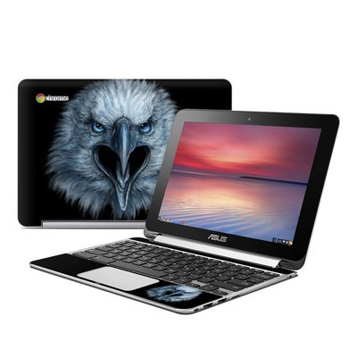 Asus Flip Chromebook Skin - Eagle Face