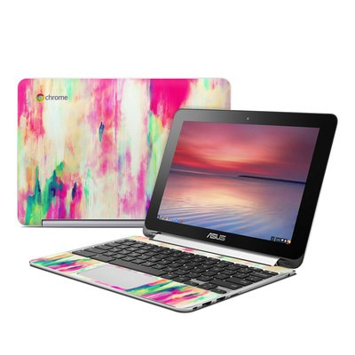Asus Flip Chromebook Skin - Electric Haze