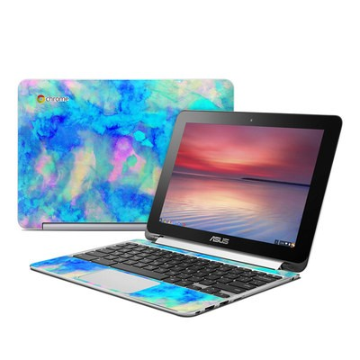 Asus Flip Chromebook Skin - Electrify Ice Blue