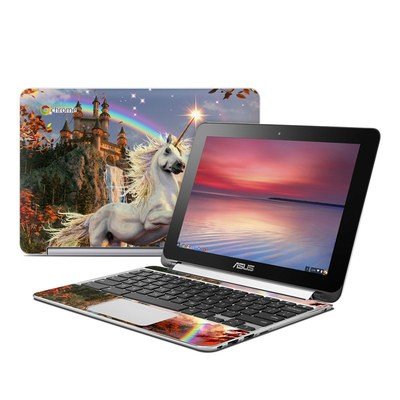 Asus Flip Chromebook Skin - Evening Star