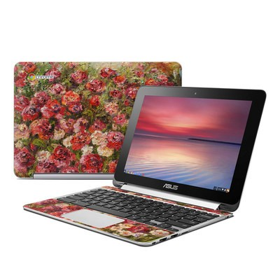 Asus Flip Chromebook Skin - Fleurs Sauvages