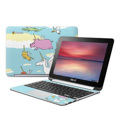 Asus Flip Chromebook Skin - Fly
