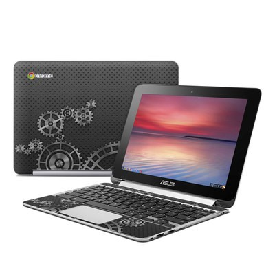 Asus Flip Chromebook Skin - Gear Wheel