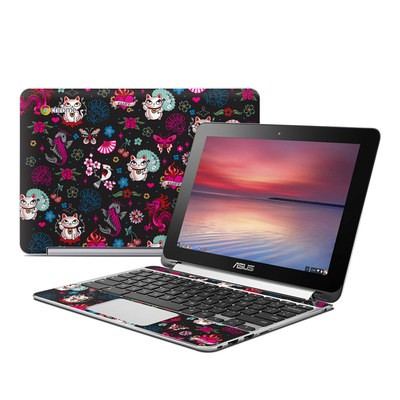 Asus Flip Chromebook Skin - Geisha Kitty