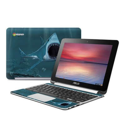 Asus Flip Chromebook Skin - Great White