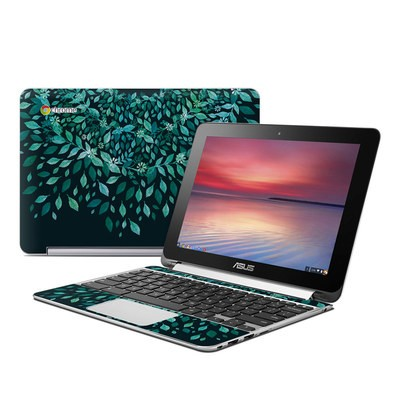 Asus Flip Chromebook Skin - Growth