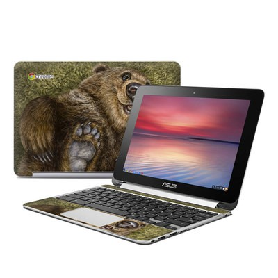 Asus Flip Chromebook Skin - Happy Baby
