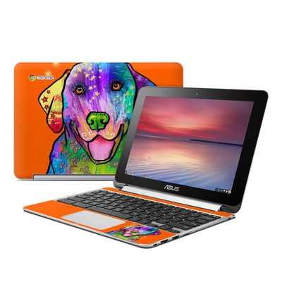 Asus Flip Chromebook Skin - Happy Sunshine