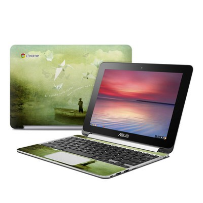 Asus Flip Chromebook Skin - If Wishes