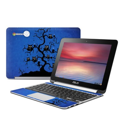 Asus Flip Chromebook Skin - Internet Cafe