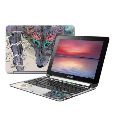Asus Flip Chromebook Skin - Journeying Spirit