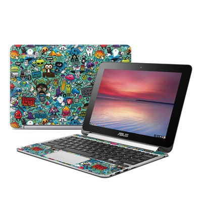 Asus Flip Chromebook Skin - Jewel Thief
