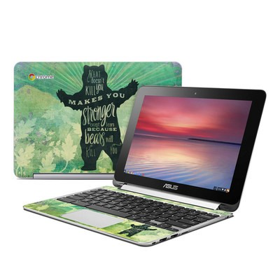 Asus Flip Chromebook Skin - What Doesnt Kill You